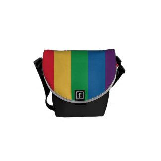 Rainbow Flag Pride Messenger Bag