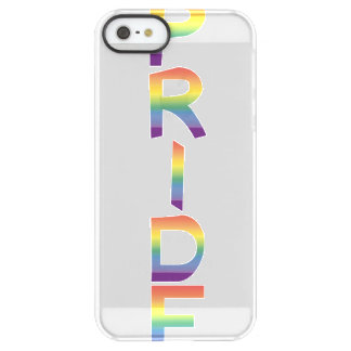 Rainbow Flag Pride Permafrost® iPhone SE/5/5s Case