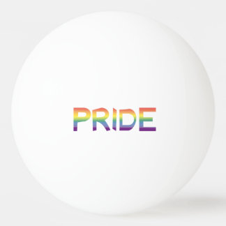 Rainbow Flag Pride Ping Pong Ball