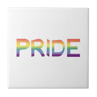 Rainbow Flag Pride Tile