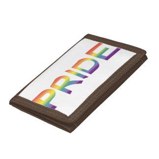 Rainbow Flag Pride Tri-fold Wallet