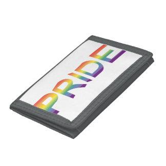 Rainbow Flag Pride Tri-fold Wallets