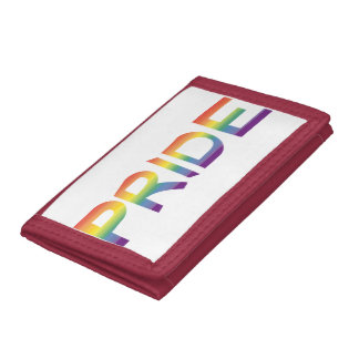 Rainbow Flag Pride Tri-fold Wallets
