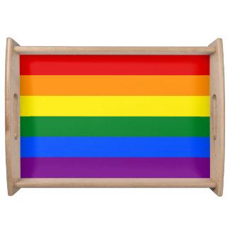 Rainbow Flag Serving Tray