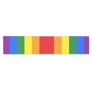 Rainbow Flag Short Table Runner