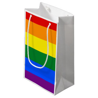 Rainbow Flag Small Gift Bag