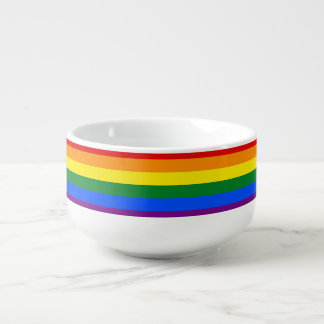 Rainbow Flag Soup Mug