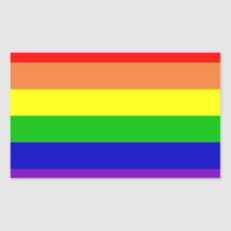 Rainbow Flag Sticker Set