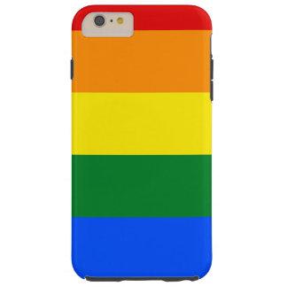 Rainbow Flag Tough iPhone 6 Plus Case