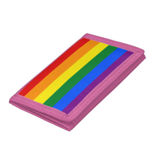 Rainbow Flag Tri-fold Wallets