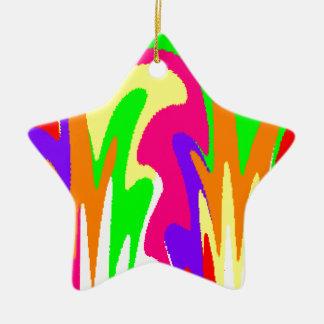 Rainbow Floral Ornaments