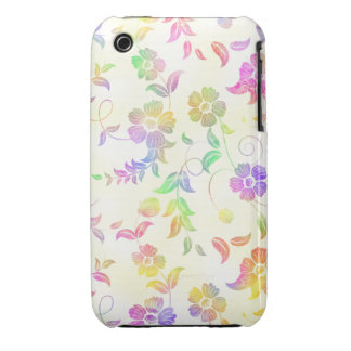 Rainbow Floral iPhone 3gs Case