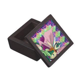 Rainbow Flower Dragon Gift Box Premium Trinket Boxes
