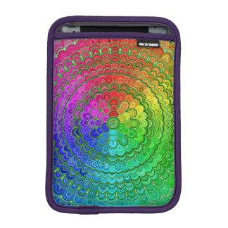 Rainbow Flower Mandala iPad Mini Sleeve