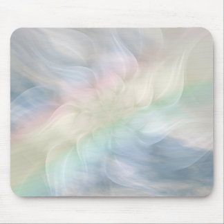 Rainbow Flower Mandala Mouse Pad