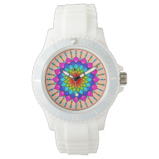 Rainbow Flower Watch