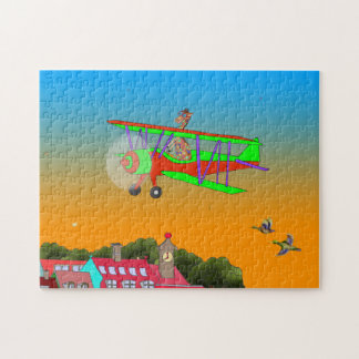 Rainbow Flying Jigsaw Puzzle