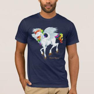 Rainbow Flying Pegasus T-Shirt