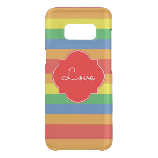 Rainbow for Love Uncommon Samsung Galaxy S8 Case