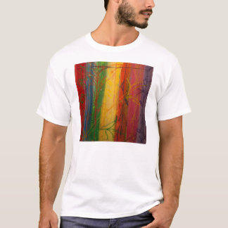 Rainbow Forrest by Bryce & Mary T-Shirt