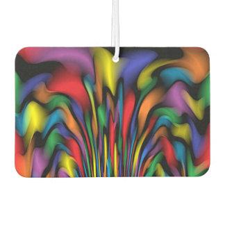 Rainbow Fountain Car Air Freshener
