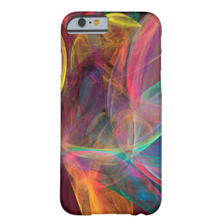 Rainbow Fractal Art Barely There iPhone 6 Case
