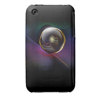 Rainbow Fractal Art Blackberry Case