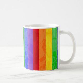 Rainbow Fractal Art Pattern Mug