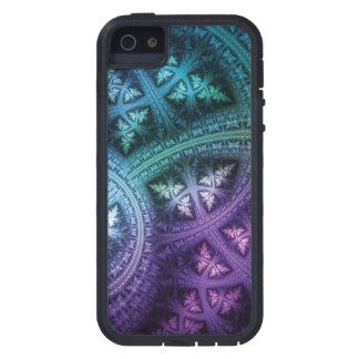 Rainbow Fractal Frost Cover For iPhone 5