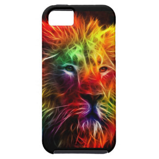 Rainbow Fractal Lion iPhone 5 Cover
