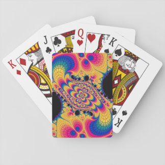 Rainbow Fractal Playing Cards