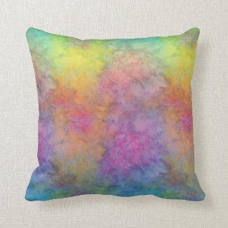 [Rainbow Frost] Multi-Coloured Tie-Dye Cushion