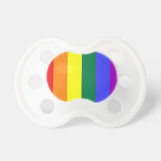 Rainbow Gay Pride Baby Dummy
