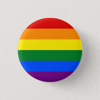 RAINBOW GAY PRIDE FLAG | BUTTON