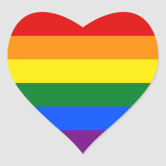 RAINBOW GAY PRIDE FLAG | STICKER
