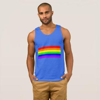 Rainbow Gay Pride Royal Blue Tank