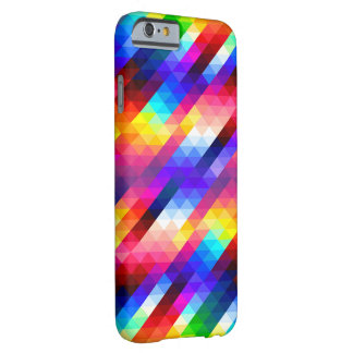 Rainbow Geometric design Barely There iPhone 6 Case
