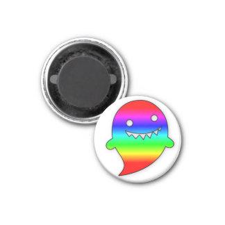 Rainbow Ghost magnet