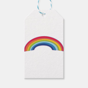 rainbow gift tags gift enclosures zazzle com au
