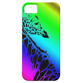 Rainbow Giraffe iPhone 5 Cases