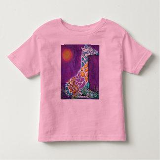Rainbow Giraffe T-shirts