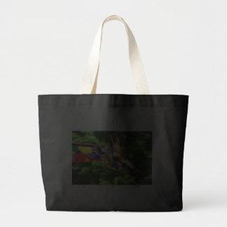Rainbow Giraffe Canvas Bag