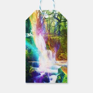 Rainbow Girl Garden Gift Tags