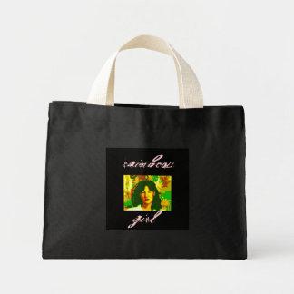 Rainbow Girl, rainbow, girl Mini Tote Bag