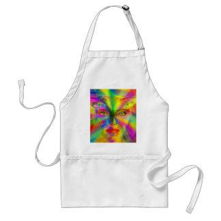 Rainbow girl standard apron