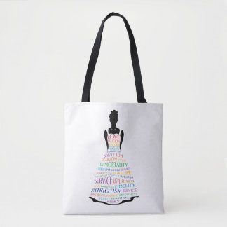 Rainbow Girls Assembly, Custom Masonic Tote Bags