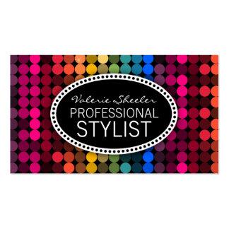 Rainbow Glam Business Card