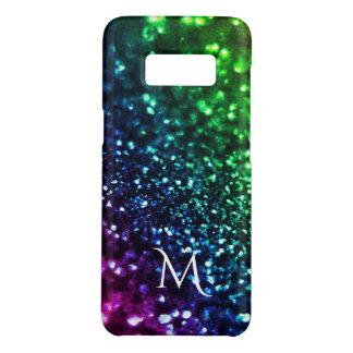 Rainbow Glitter Psychedelic  Monogram Case-Mate Samsung Galaxy S8 Case