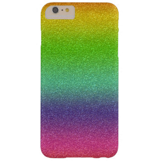 Rainbow Glitter Texture iPhone Case