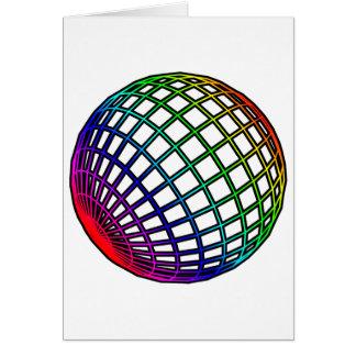 Rainbow Globe Card
